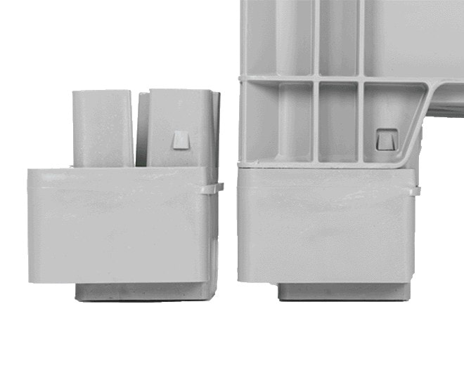 Пластмасова каса AX-8639-X