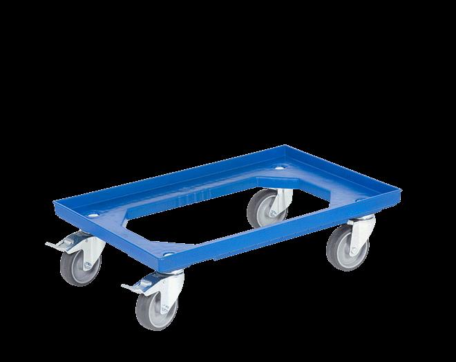Пластмасова количка за каси DOLLY 4161