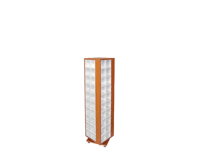дървен щендер с кутии за чекмеджета SD-1-80