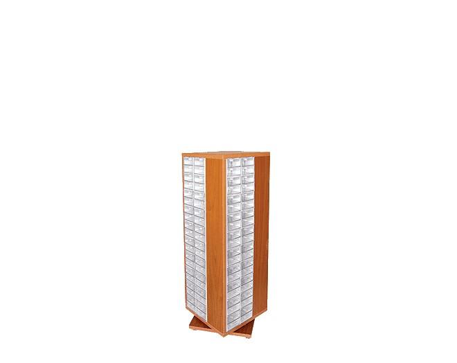 дървен щендер с кутии за чекмеджета SD-160