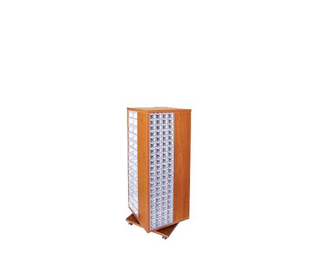 дървен щендер с кутии за чекмеджета SD-238