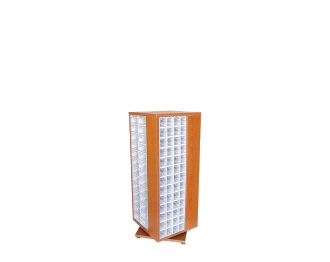 дървен щендер с кутии за чекмеджета SD-286