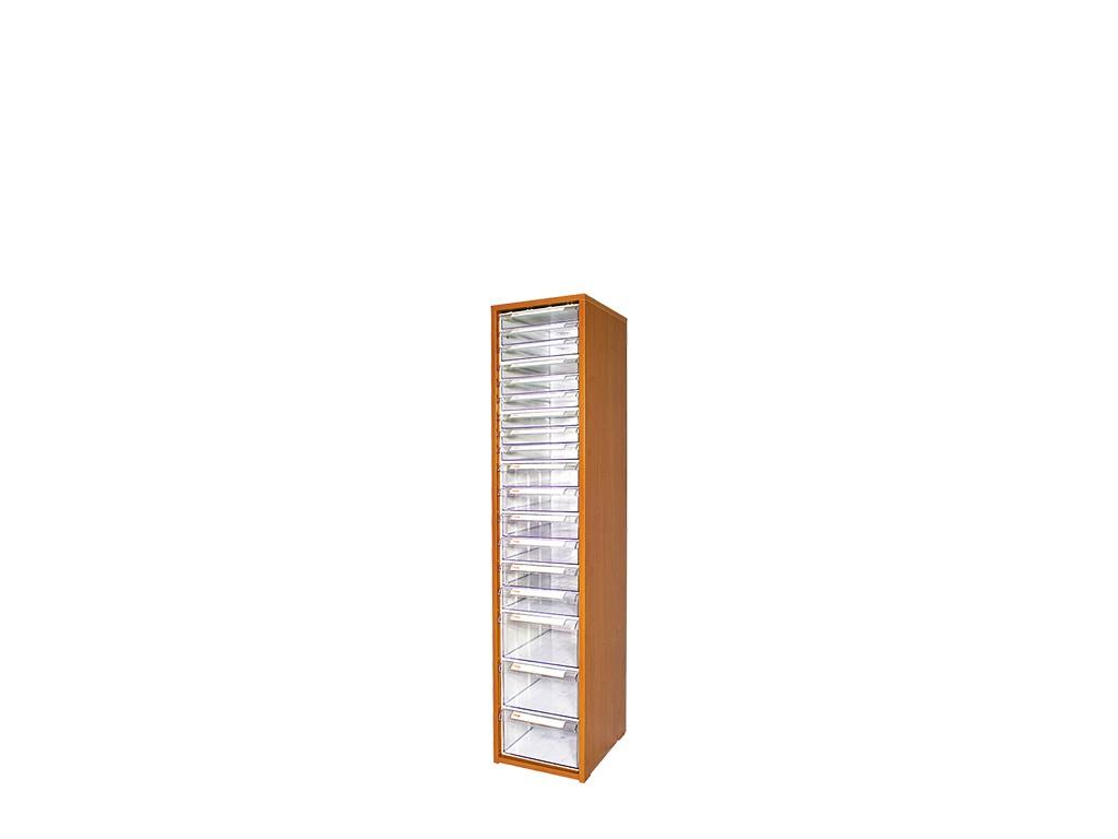 дървен щендер с кутии за чекмеджета SM-19