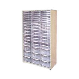 Дървени щендери с кутии за чекмеджета