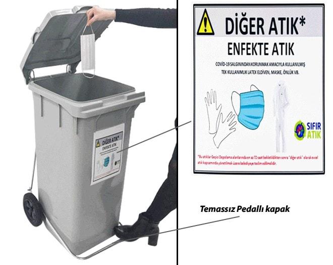 кош за отпадъци CK-400 PEA