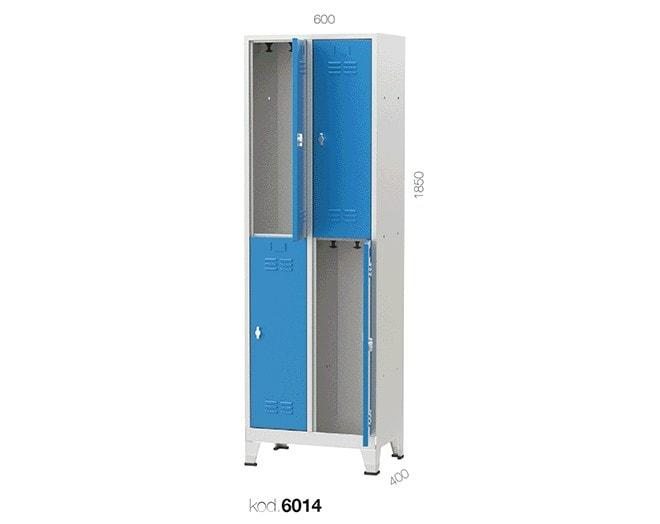 метален гардероб 6014