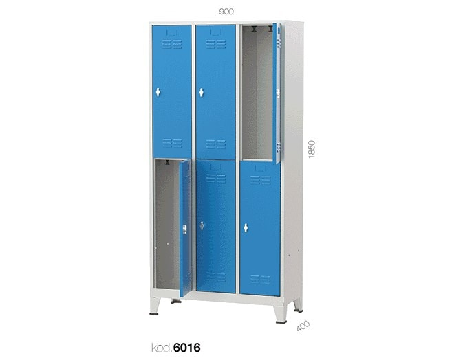 метален гардероб 6016