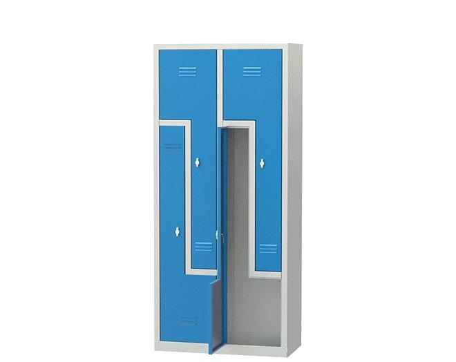 метален гардероб 6045