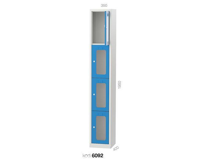 метален гардероб 6093