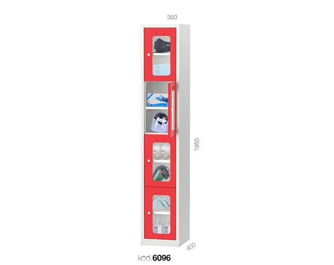 метален гардероб 6098