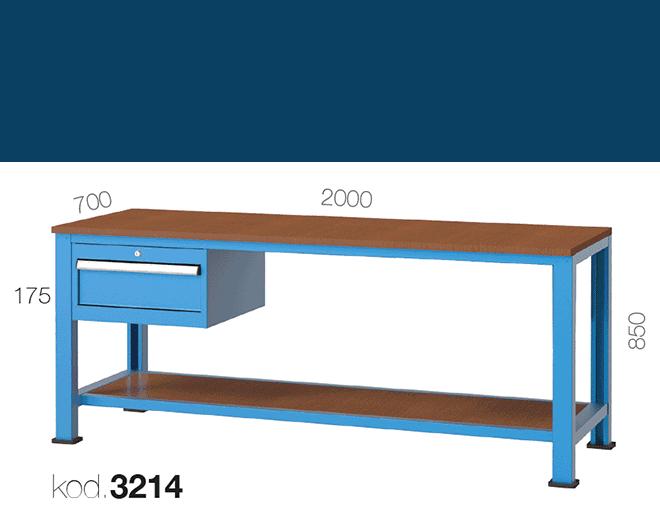 метална работна маса 3214