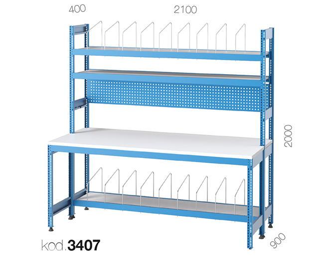 метална работна маса 3406