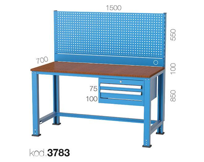 метална работна маса 3783