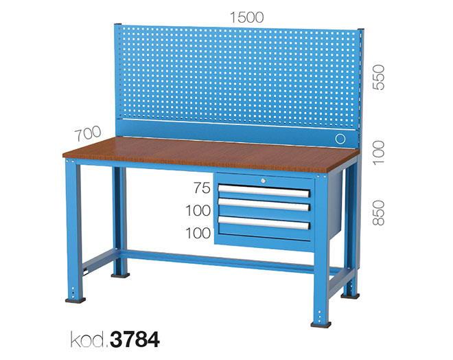 метална работна маса 3784