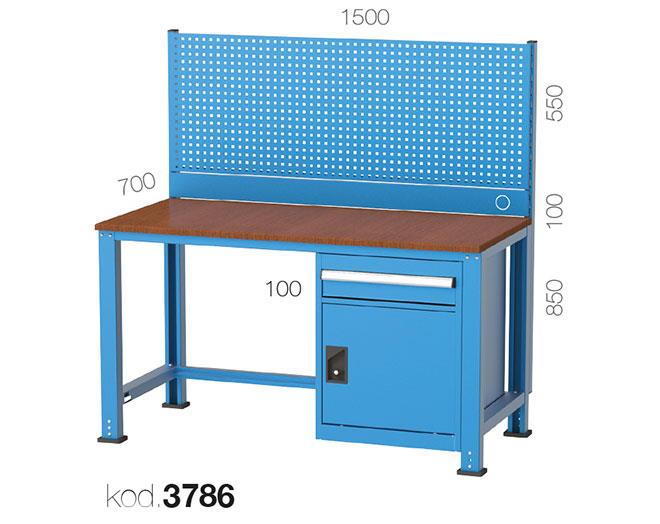 метална работна маса 3786