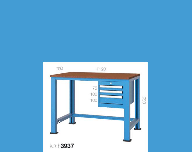 метална работна маса 3937