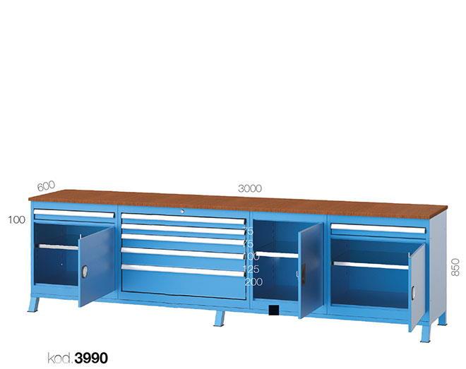 метална работна маса 3990