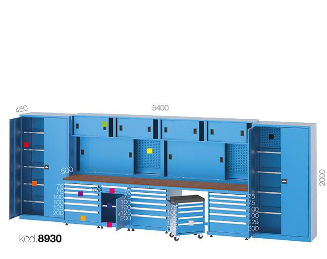 метална работна маса 8930