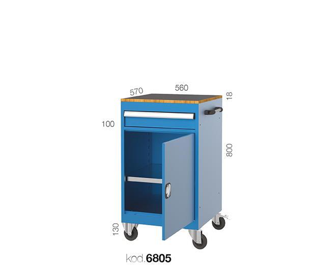 мобилен шкаф за инструменти 6805