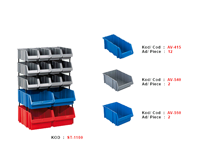 пластмасов модул ST-1180