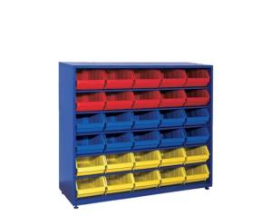 Шкаф с пластмасови кутии STAND-21