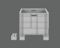 Пластмасова каса AX-86 AYK