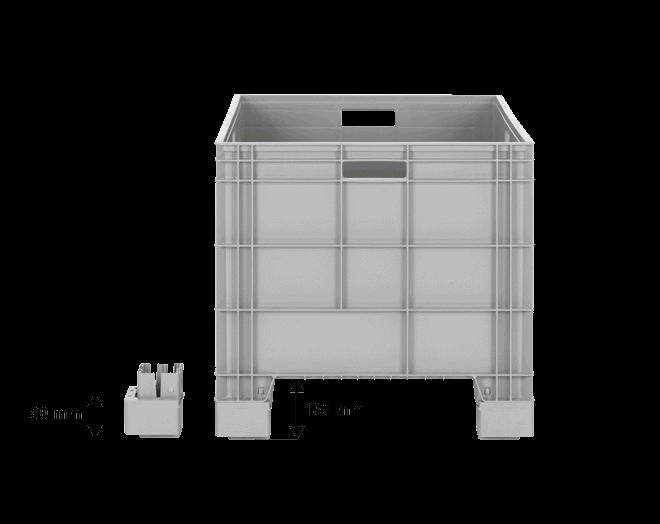 Пластмасова каса AX-8650-X