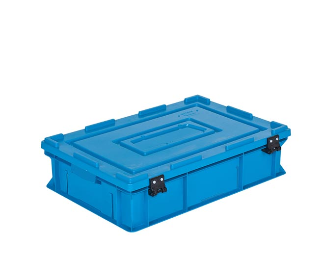 Пластмасова каса с фиксиран капак HP-4615-MK