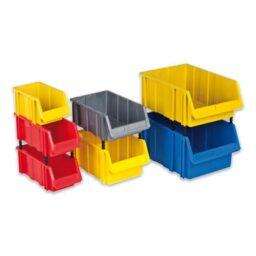 Пластмасови стелажни кутии