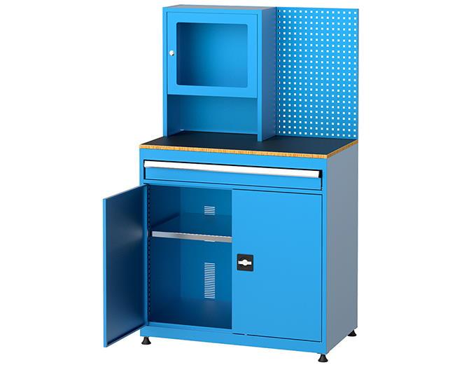работна станция шкаф за компютър 7435
