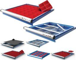 разделители на чекмеджета за метални шкафове