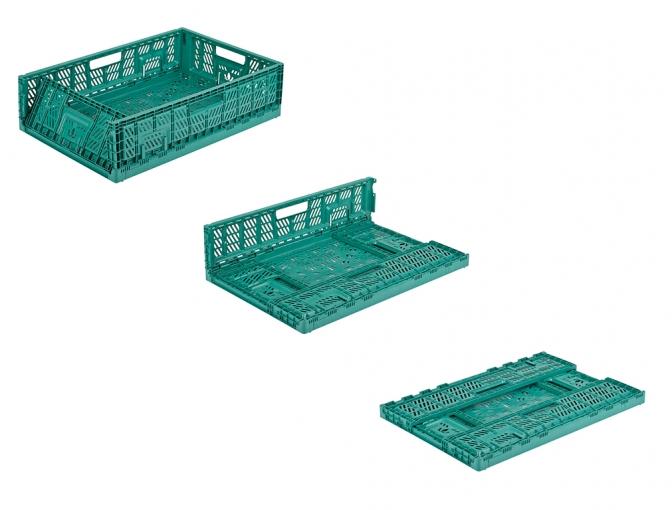 сгъваема пластмасова каса KTA-6420-18