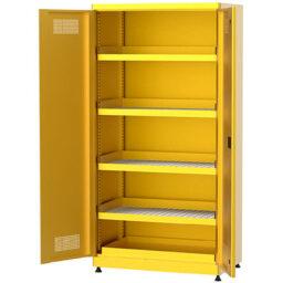 Шкафове за опасни вещества и химикали