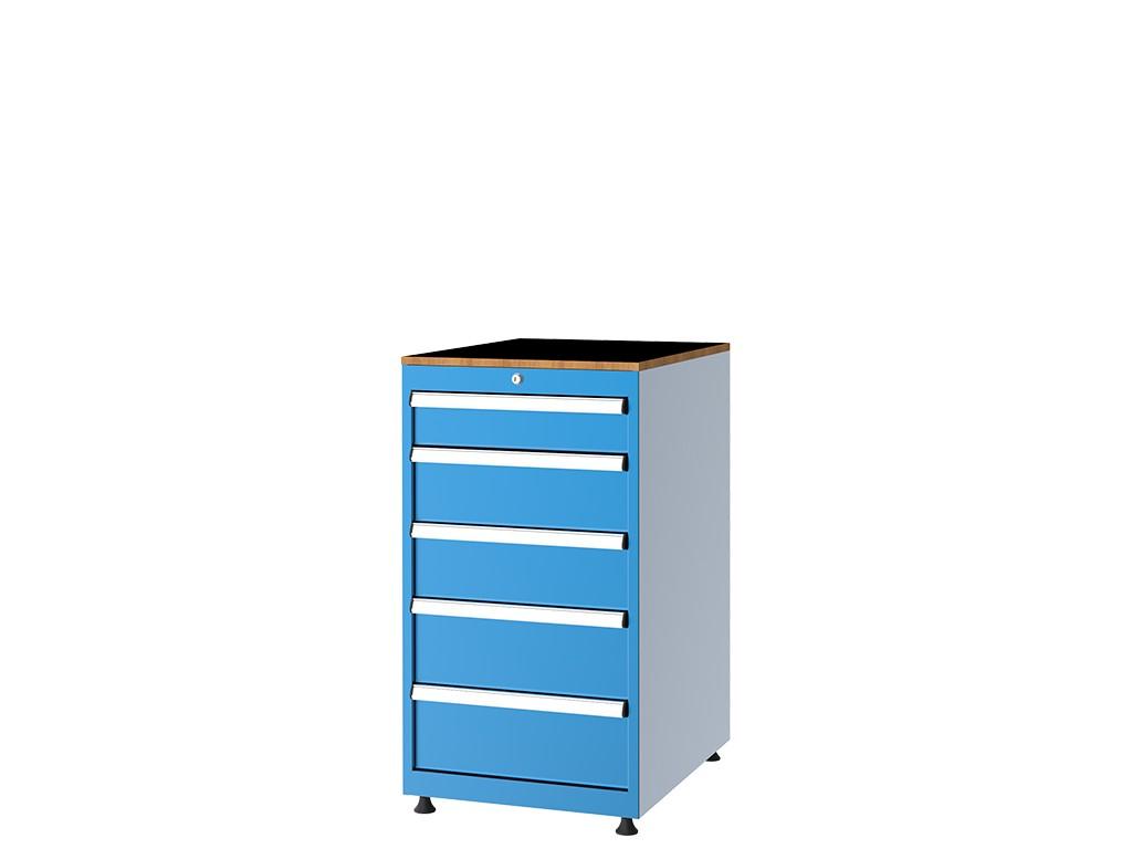 шлосерски шкаф за инструменти 57102 - 5 чекмеджета