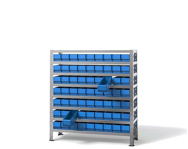 щендер с рафтови кутии 48-309