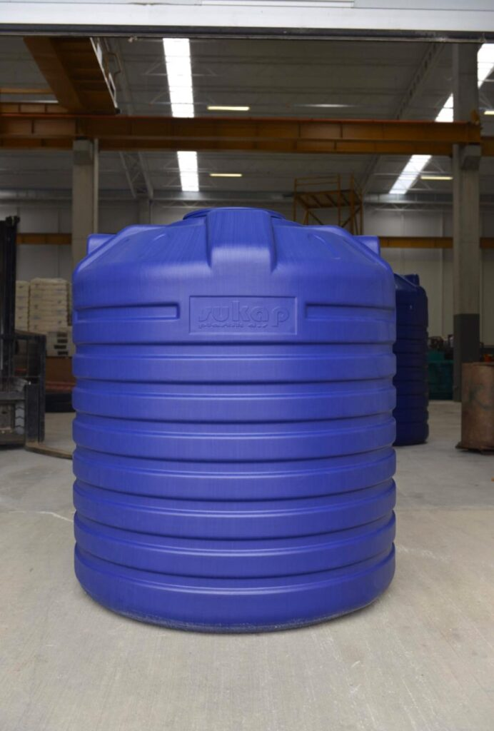 трипластов вертикален резервоар за вода TLV-3000