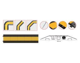 защитен канал рампа за кабели и маркучи